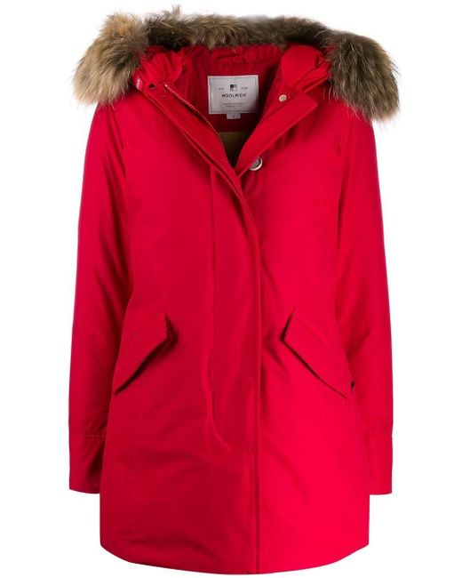 Giubbotto Arctic Parka di Woolrich in Red