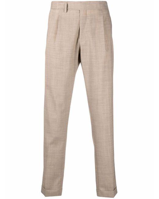 Pantaloni a gamba dritta uomo beige di Briglia 1949 in Natural da Uomo