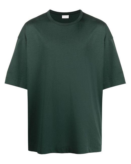 T-shirt heky uomo bot di Dries Van Noten in Green da Uomo