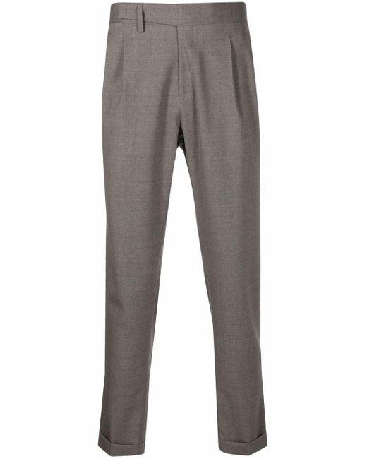 Pantaloni a gamba dritta uomo pietra di Briglia 1949 in Gray da Uomo