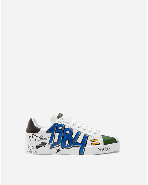 Sneakers Portofino New Dglimited - Homme Dolce & Gabbana pour homme en coloris Multicolor