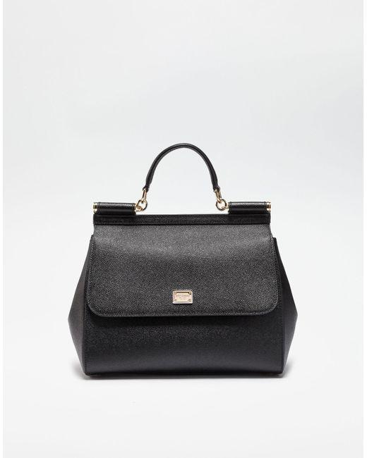 Dolce   Gabbana - Black Borsa A Mano - Lyst ... d1ec9c064630b