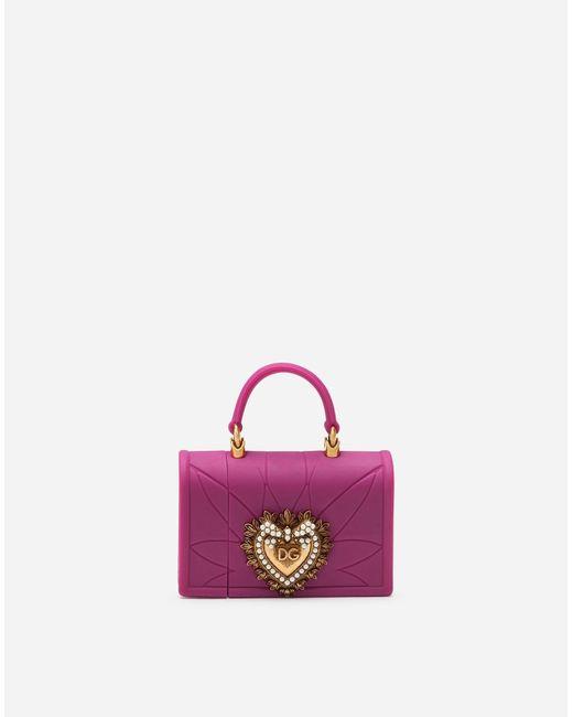 Dolce & Gabbana Purple Silicone Devotion Airpods Case