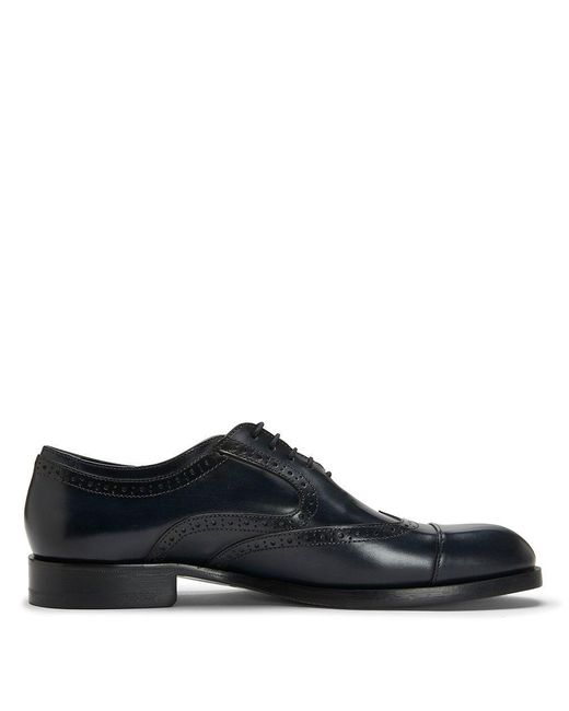 Donald J Pliner | Multicolor Dipped Calf And Textured Calf Leather Oxford for Men | Lyst