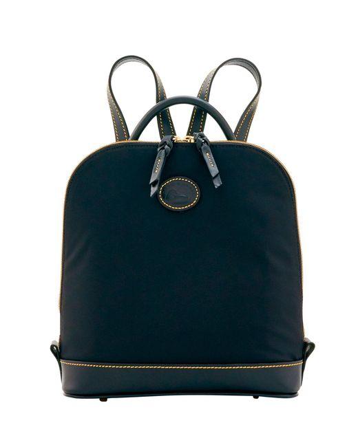 Dooney & Bourke - Black Nylon Zip Pod Backpack - Lyst