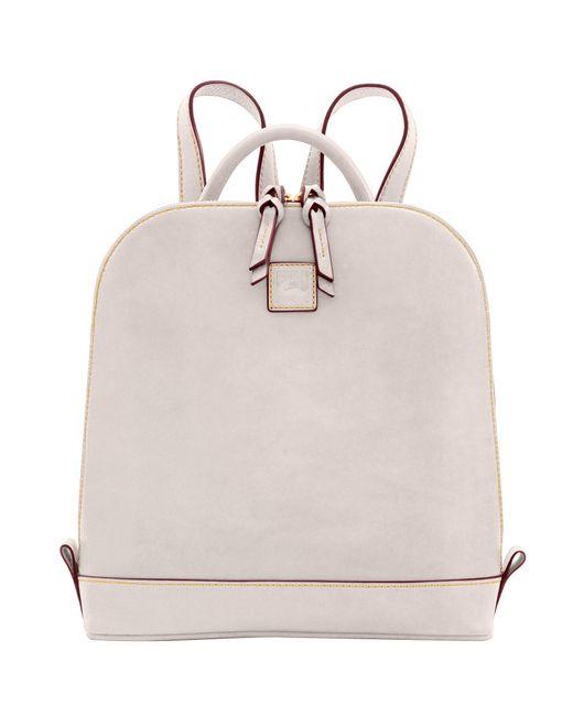Dooney & Bourke Blue Florentine Zip Pod Backpack