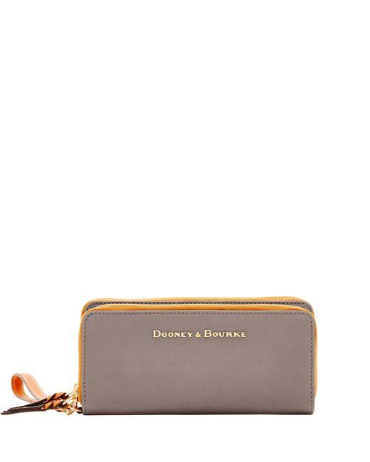 Dooney & Bourke Multicolor City Double Zip Wallet