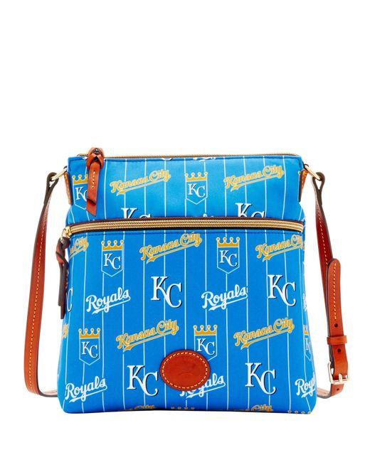 Dooney & Bourke - Blue Mlb Royals Crossbody - Lyst
