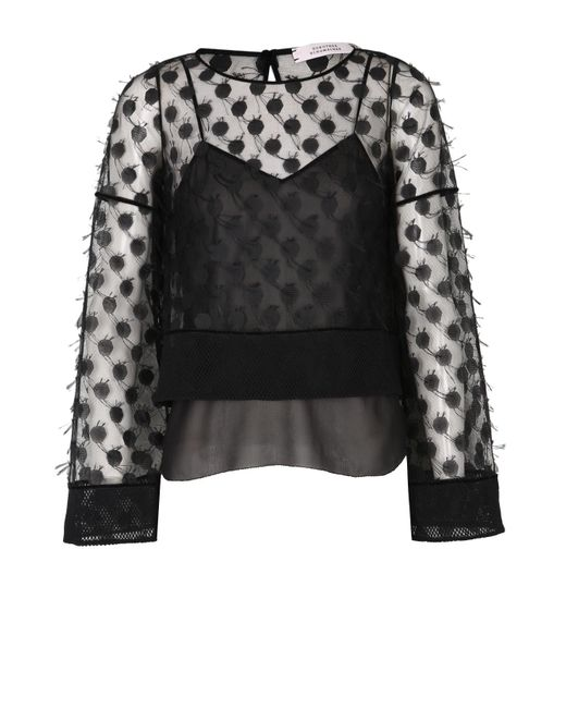 Dorothee Schumacher | Black Eclectic Match Blouse | Lyst