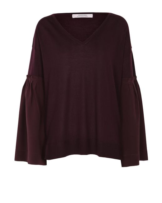 Dorothee Schumacher   Purple Layer Love Pullover 1/1   Lyst