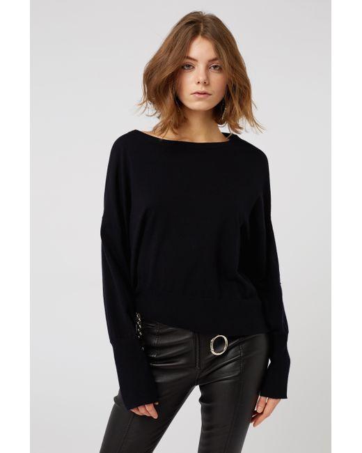 Dorothee Schumacher - Black Soft Surprise Pullover O-neck 1/1 - Lyst
