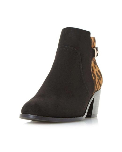 Dorothy Perkins | Head Over Heels By Dune Black 'pascalle' Ankle Boots | Lyst