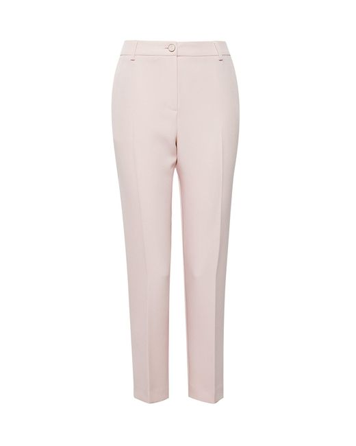 Dorothy Perkins Pink Blush Tapered Crepe Trousers