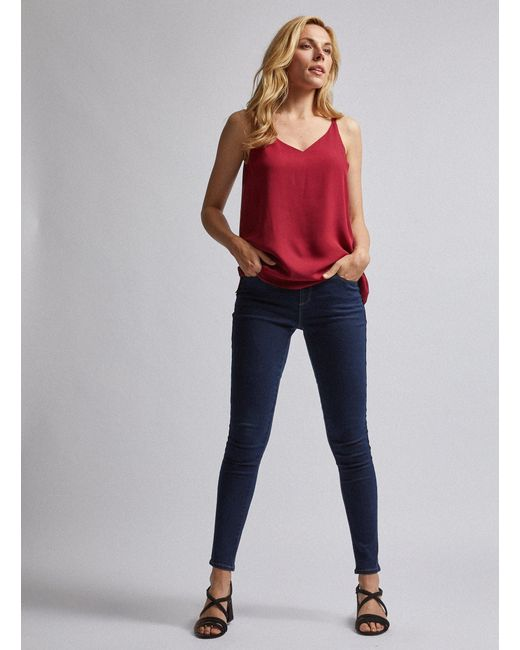 Dorothy Perkins Womens Mid Wash Regular Length Ellis Bootcut Jeans