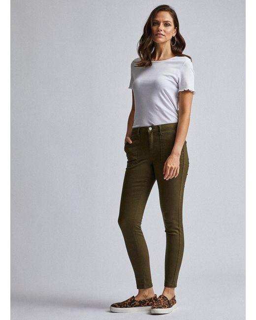 Ladies Ex Dorothy Perkins Skinny Jeans Womens Slim Fit Stretch Pants
