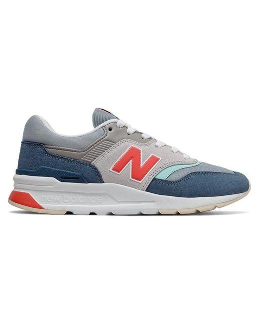 New Balance Gray 997 V1 Classic