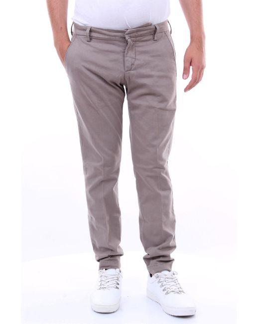 Pantalone capri con tasca america di Michael Coal in Gray da Uomo