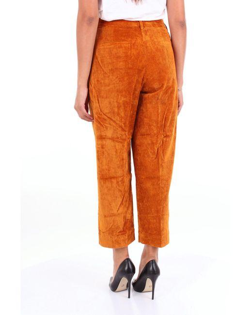 Jucca Trousse pantalon femme de coloris orange lmTvU