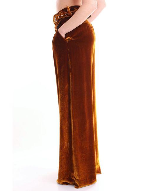 Marques'Almeida Trousse pantalon femme de coloris marron