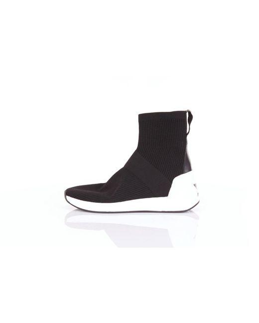Ash Zapatillas alto de hombre de color negro