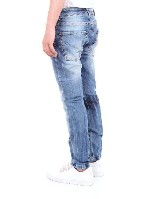 Trousse pantalones vaqueros Entre Amis de hombre de color Blue