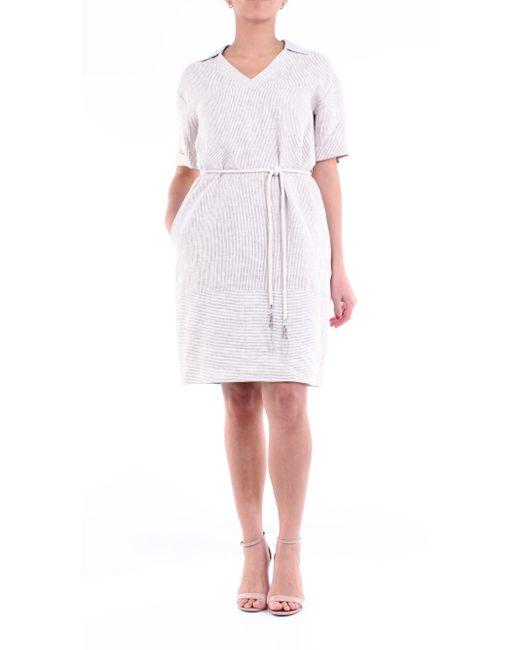 Vestidos largo Peserico de color White