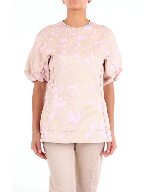 Marni Blusa de mujer de color rosa tiA6g