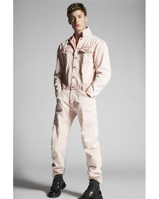 メンズ DSquared² ジャンプスーツ Pink