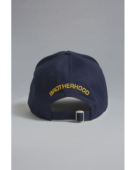 8a7094ff975c6e DSquared² - Blue Caten Baseball Cap for Men - Lyst ...