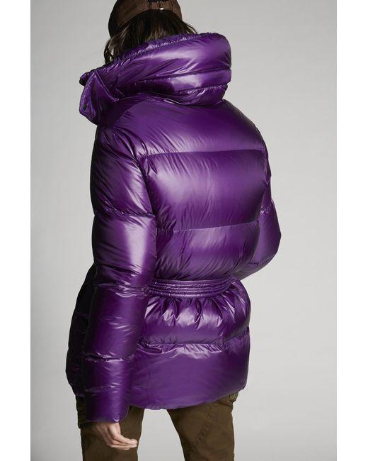 DSquared² ダウン Purple