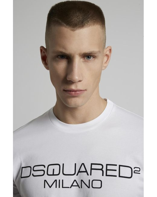 メンズ DSquared² ショートスリーブt シャツ White