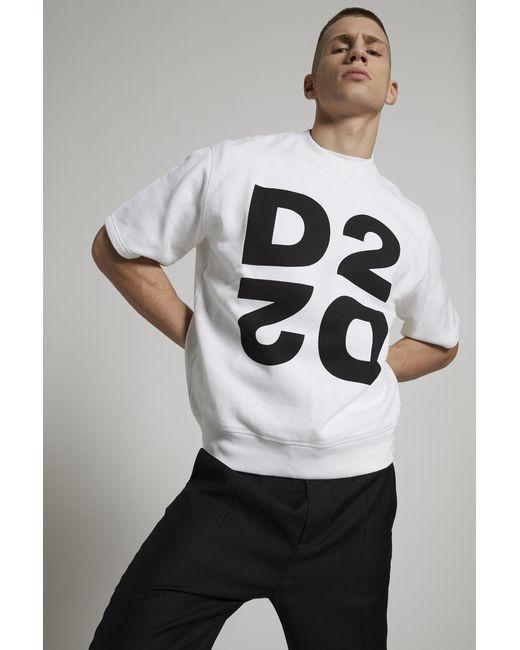 メンズ DSquared² スウェットシャツ White