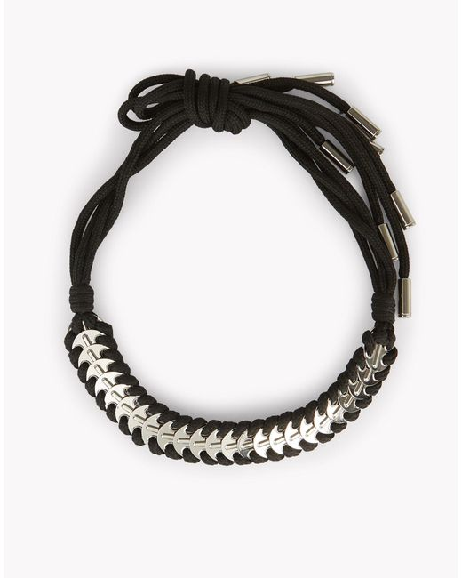 DSquared² | Black Metallic Coin Necklace | Lyst