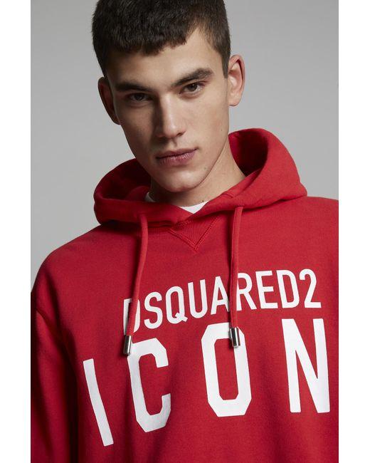 メンズ DSquared² スウェットシャツ Red