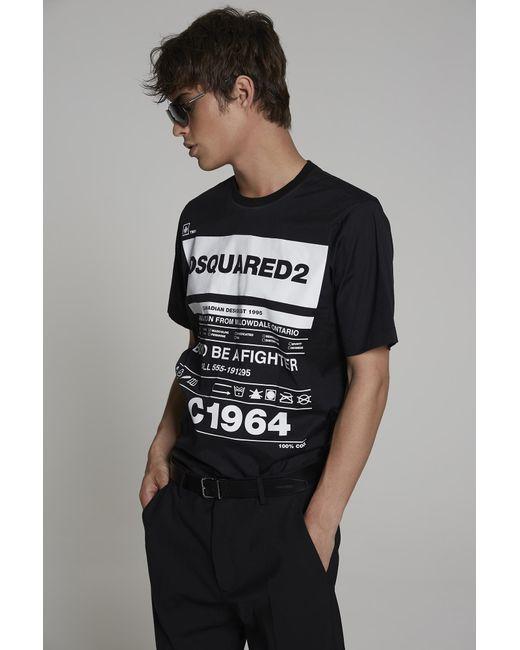 メンズ DSquared² シャツ Black