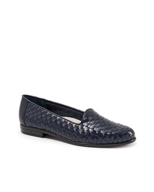 Trotters Blue Liz Loafer