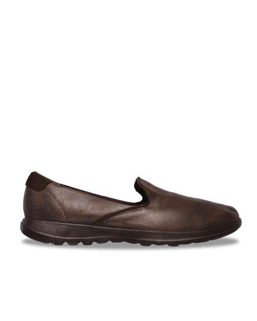 Skechers Leather Gowalk Lite Queenly