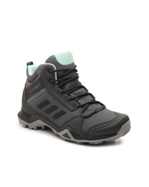 Adidas Gray Terrex Ax3 Hiking Boot