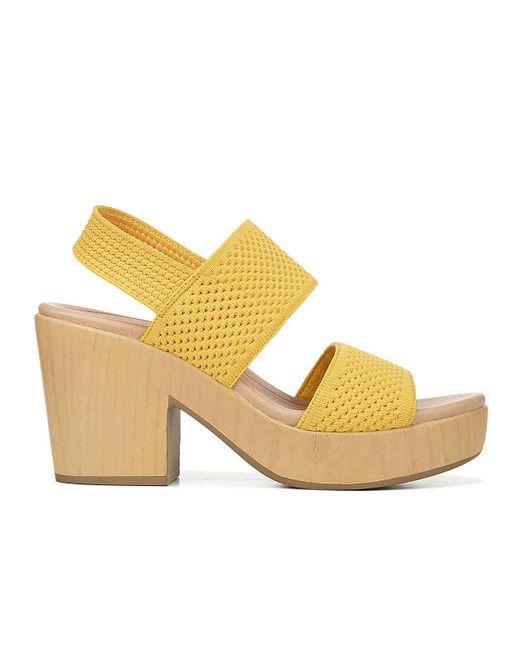 d3809638f95 Women's Yellow Becca Platform Sandal