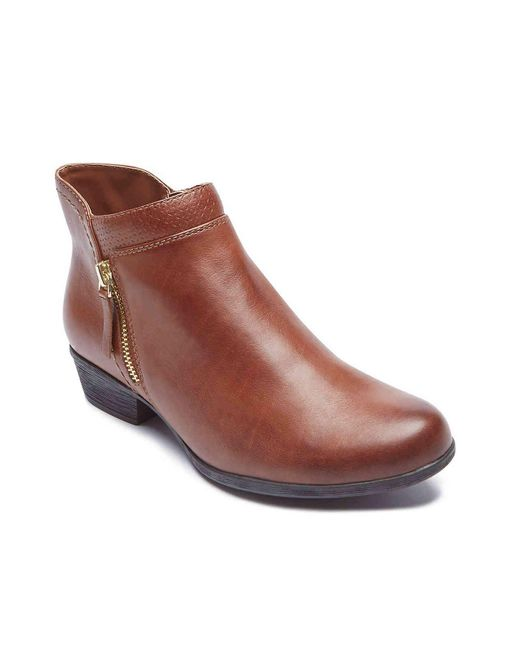 Rockport Brown Carly Bootie