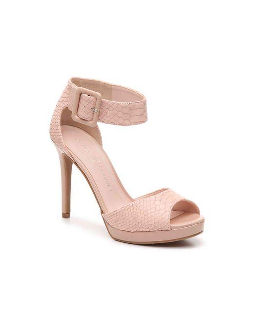 Chinese Laundry Pink Faire Platform Sandal