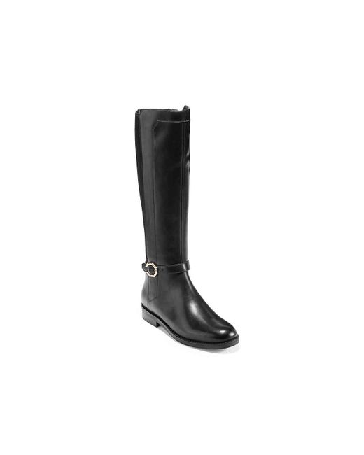 Cole Haan Black Ivy Riding Boot