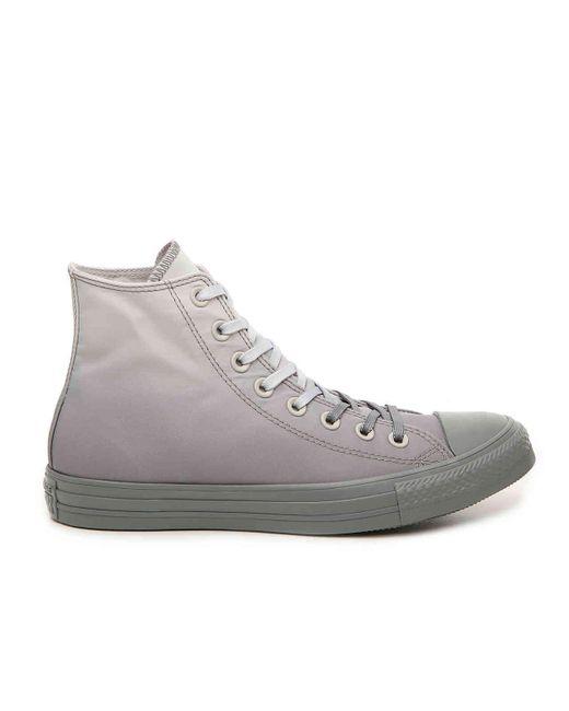 f66ae14c9b52 ... Converse - Gray Chuck Taylor All Star Dip Dye High-top Sneaker - Lyst  ...