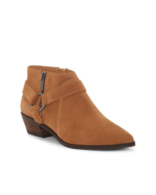 Lucky Brand Brown Enitha Bootie