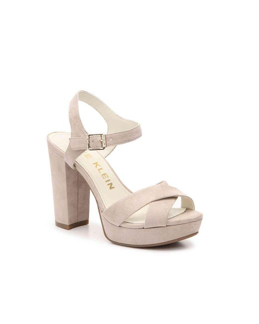 Anne Klein Lalima Platform Sandal In Pink Lyst