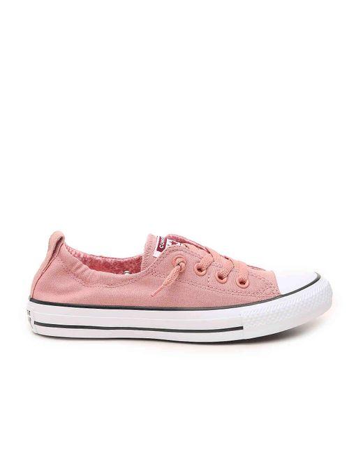 fa02c9c04969 ... Converse - Purple Chuck Taylor All Star Shoreline Slip-on Sneaker - Lyst  ...