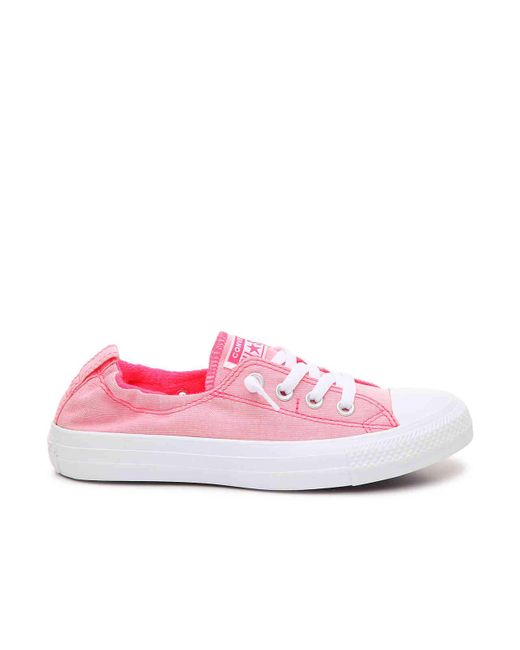 eeaddf1c8645 ... Converse - Pink Chuck Taylor All Star Shoreline Slip-on Sneaker - Lyst  ...