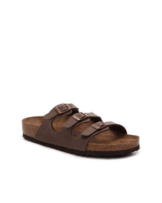 Birkenstock Brown Florida Soft Footbed - Birkibuc