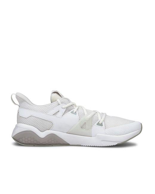 PUMA White Cell Fraction Running Shoe for men