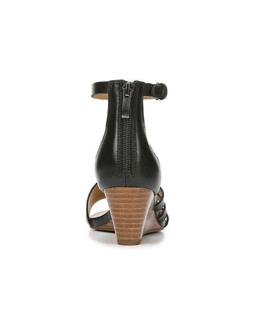 0da68921e3b Women's Black Dutch Wedge Sandal
